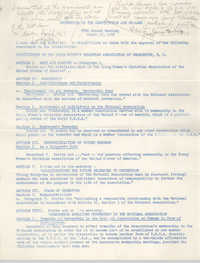 Amendments to the Constitution and By-Laws, Y.W.C.A. Annual Meeting, March 17, 1967