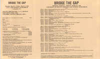Bridge the Gap, Continuing Legal Education Seminar Pamphlet, March 4-8, 1985