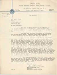 Letter from Cordella A. Winn to Ella L. Smyrl, June 15, 1932
