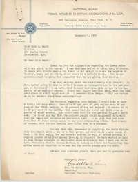 Letter from Cordella A. Winn to Ella L. Smyrl, December 2, 1932