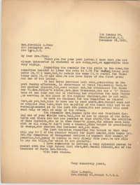 Letter from Ella L. Smyrl to Cordella A. Winn, November 25, 1932