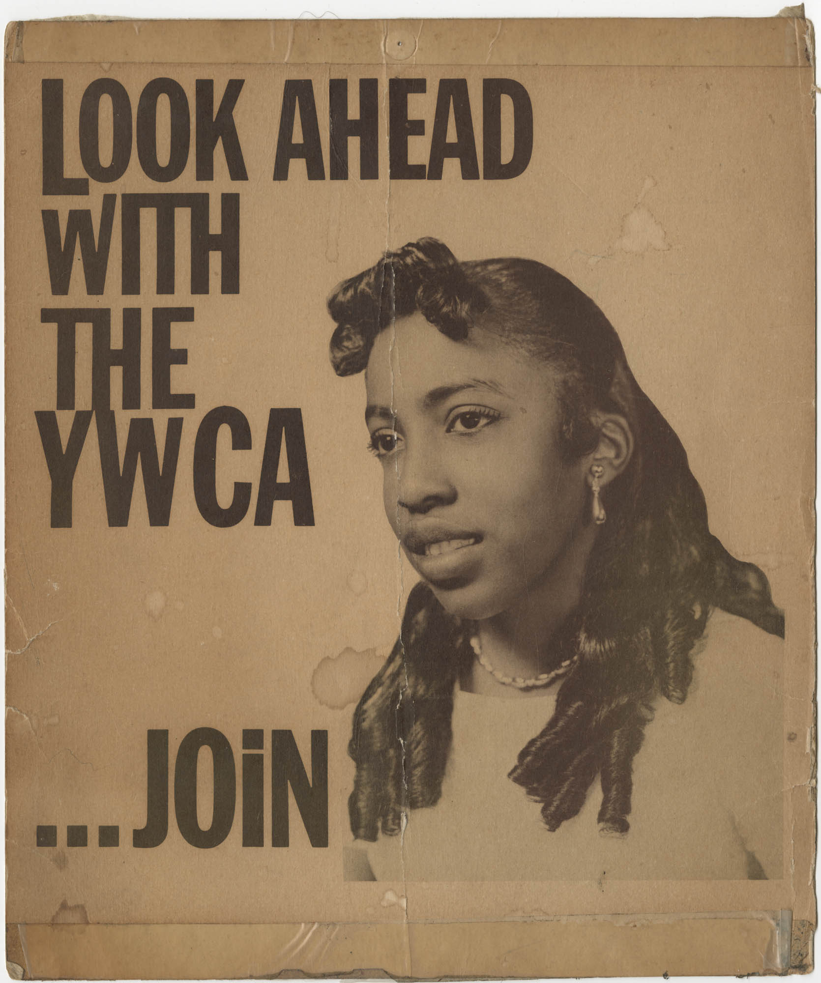 Flyer for Y.W.C.A.