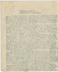 Coming Street Y.W.C.A. Report for December 1920