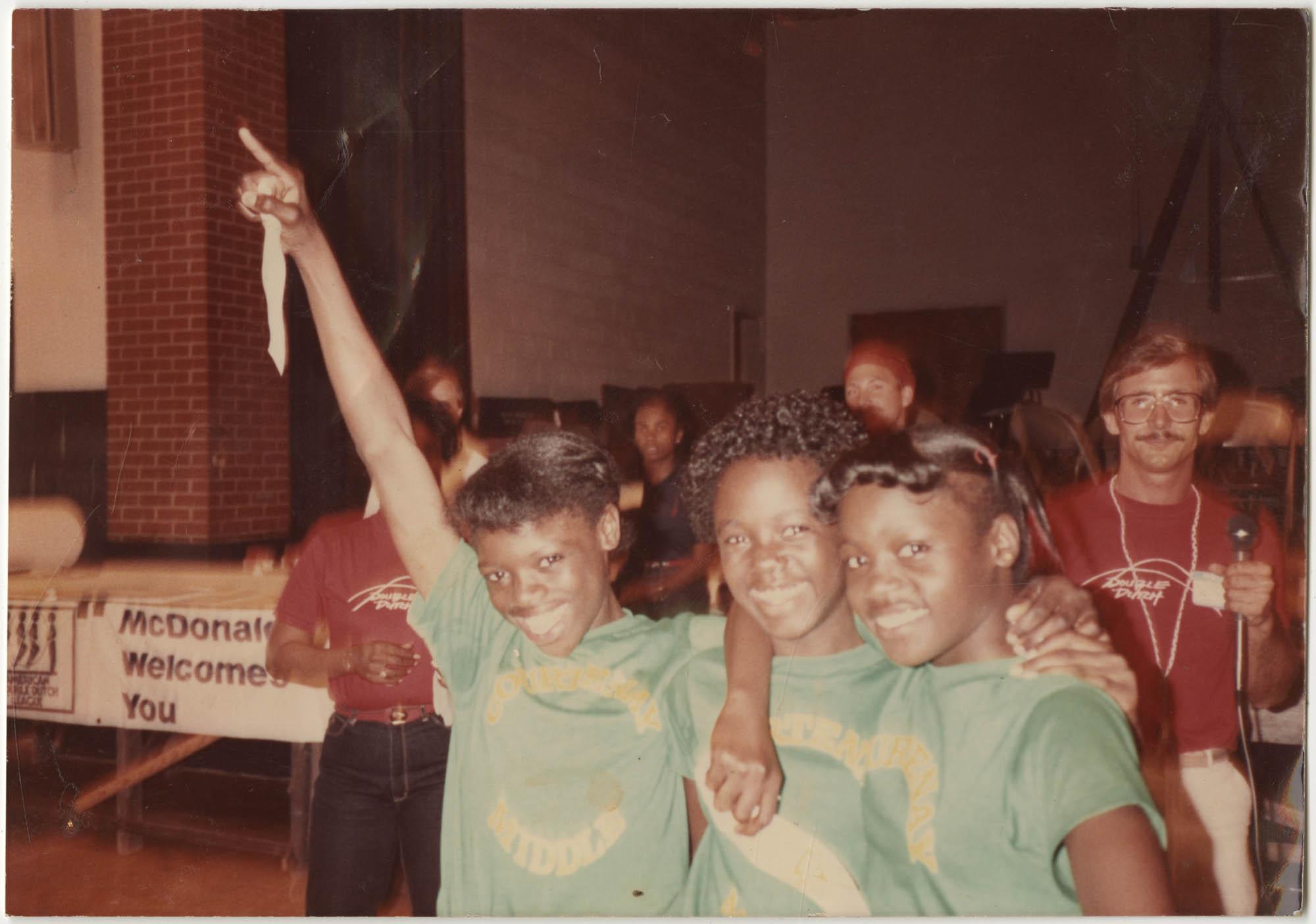 Photograph of Three Girls