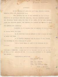 A Tribute to Felicia Goodwin, April 16, 1937