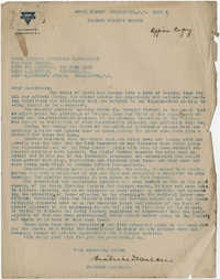 Coming Street Y.W.C.A. Report for April 1919