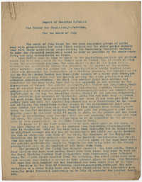 Coming Street Y.W.C.A. Report for July 1919