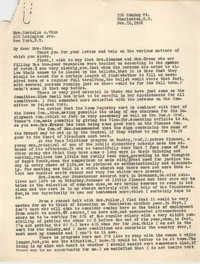 Letter from Ella L. Smyrl to Cordella A. Winn, February 16, 1932