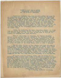 Coming Street Y.W.C.A. Report for September 1920