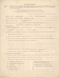 Annual Report to the National Board of the Young Women's Christian Associations, December 1923
