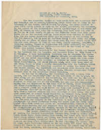 Coming Street Y.W.C.A. Semi-Annual Report, December 1922