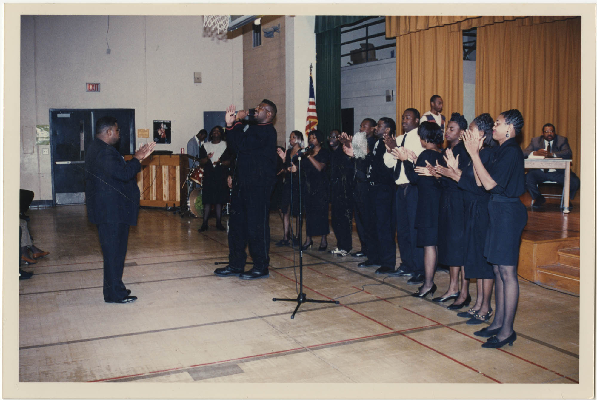 Photograph of a Choir