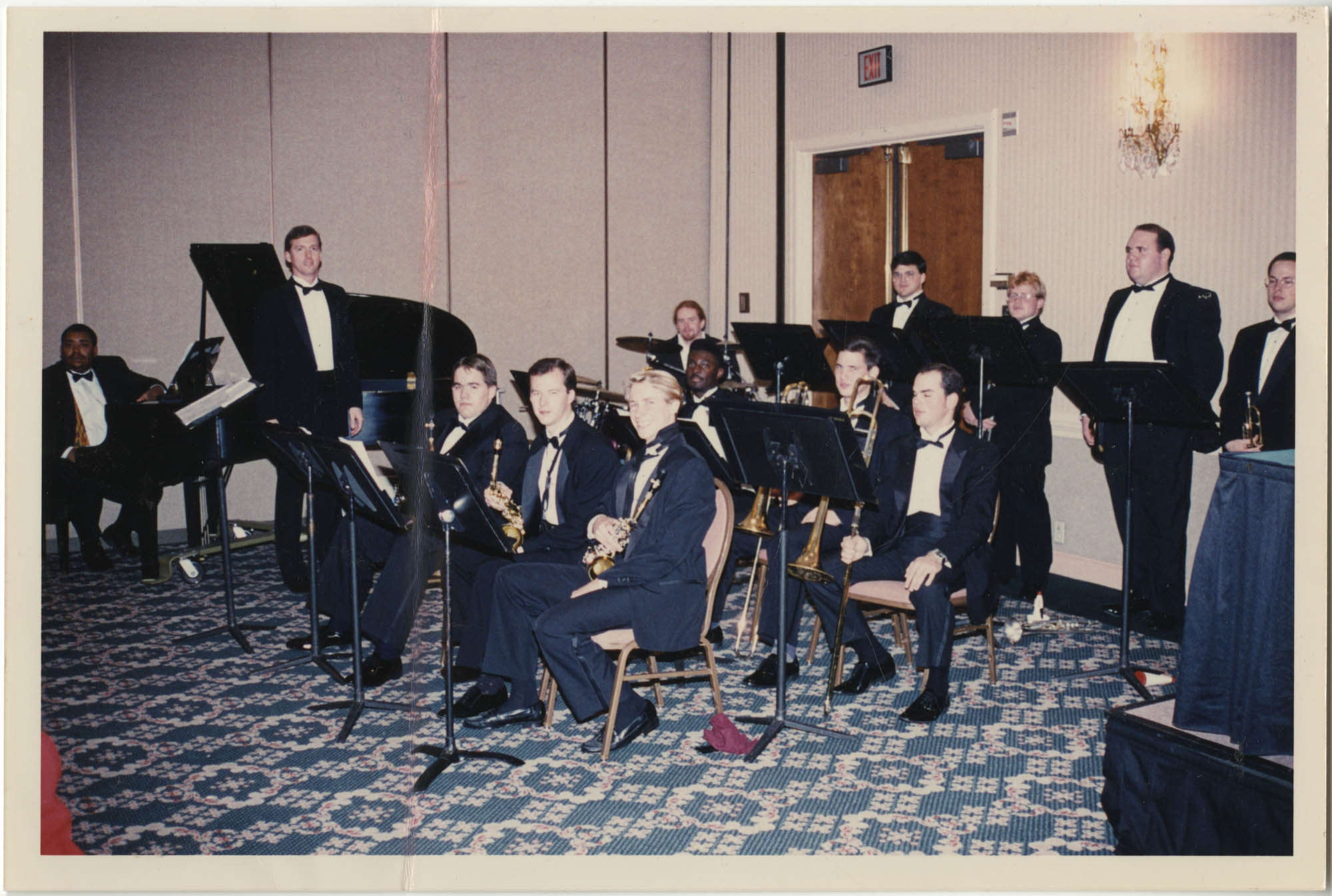 Photograph of a Jazz Band