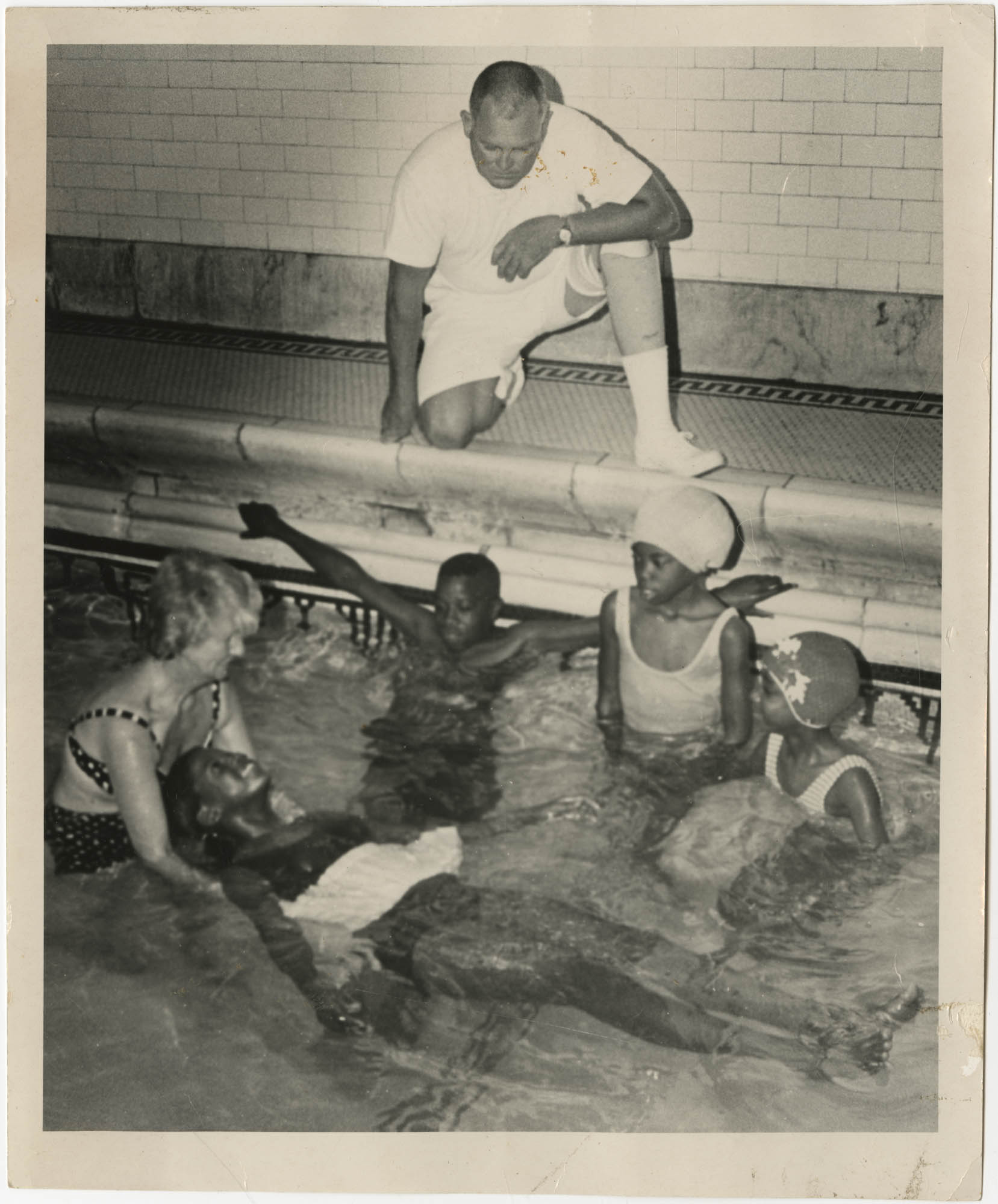 Photograph of Swimming Class