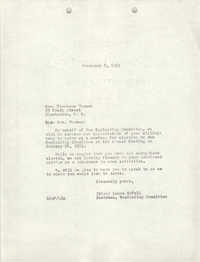 Letter from Laura McFall to Florence Thomas, February 8, 1951