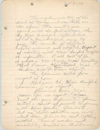 Minutes to the Board of Management, Coming Street Y.W.C.A., October 7, 1941