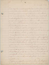 Minutes of the Committee of Management, Coming Street Y.W.C.A., June 3, 1925