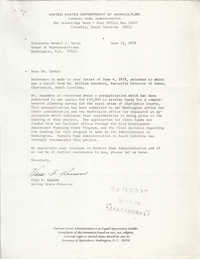 Letter from Vera F. Ransom to Mendel J. Davis, June 12, 1979