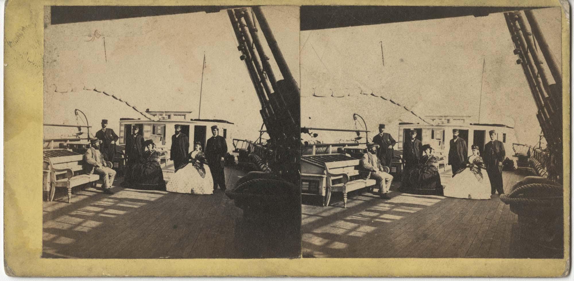 Group on Passenger Ship