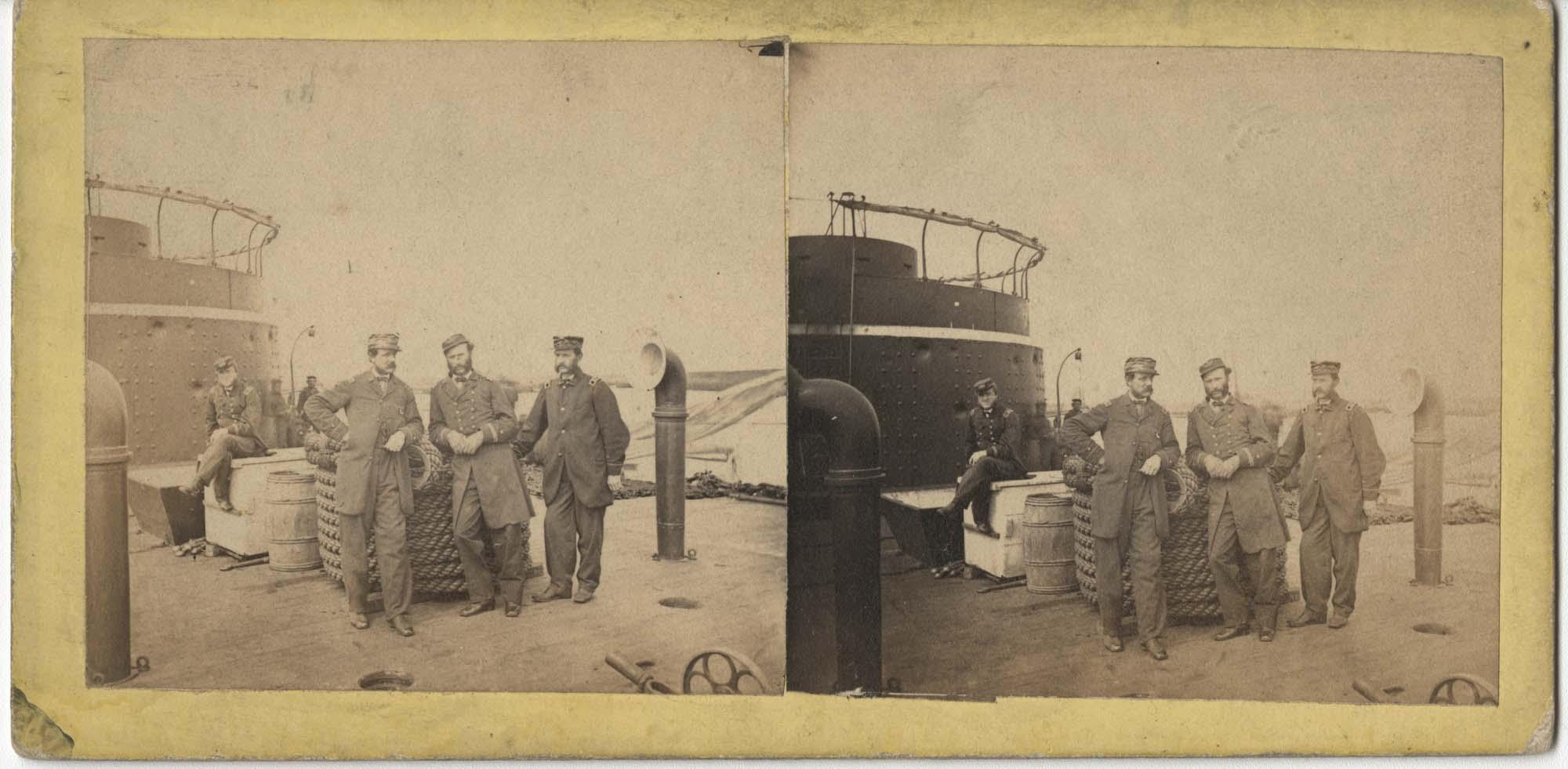 Men Onboard Ship