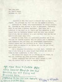 COBRA Complaint Update, December 20, 1975