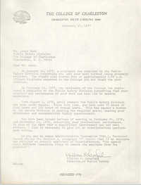 Letter from William K. Langford to Leroy Ward, February 17, 1977