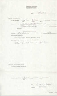 Community Relations Assistance Request, September 24, 1986