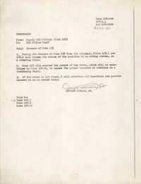 Memorandum, August 13, 1976