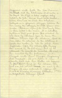 Handwritten COBRA Notes, November 7, 1977