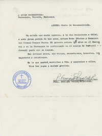 Carta de recomendación  /  Letter of Recommendation