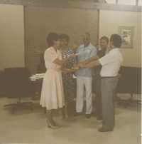 Fotografía de la junta directiva de Tri-County Hispanic American Association  /  Photograph of Tri-County Hispanic American Association Board of Directors