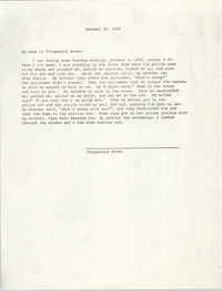 Statement by Fitzgerald Brown, October 10, 1978