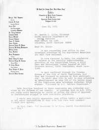Letter from J. Arthur Brown to Archie C. Ellis, June 23, 1975
