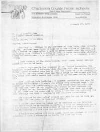 Letter from Dwight Ives to J. L. Brockington, January 17, 1975