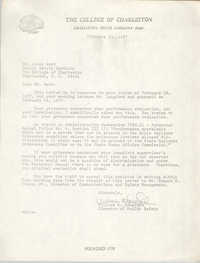 Letter from William K. Langford to Leroy Ward, February 25, 1977