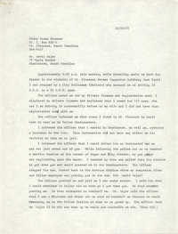 Letter from Elder Isaac Simmons to David Major, December 16, 1975