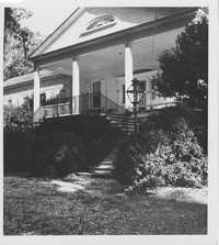 Greek Revival Style House Porch