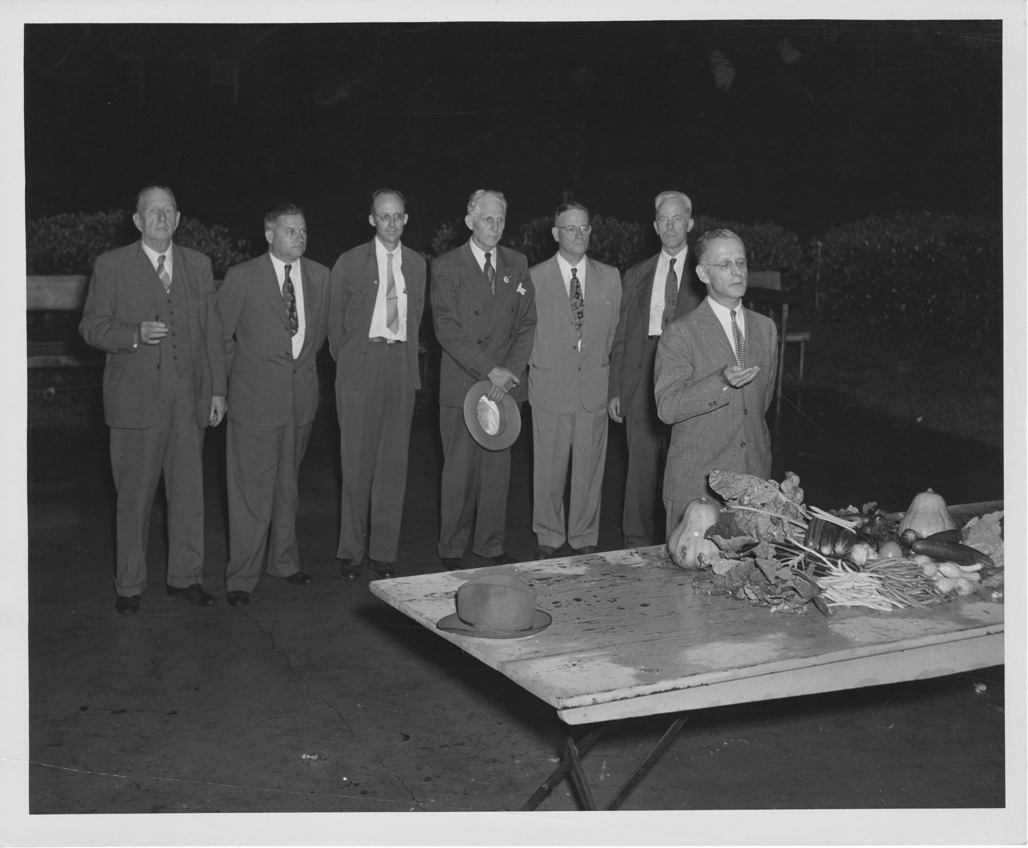 Fair Exhibitors Meeting at Coburg Dairy Supper