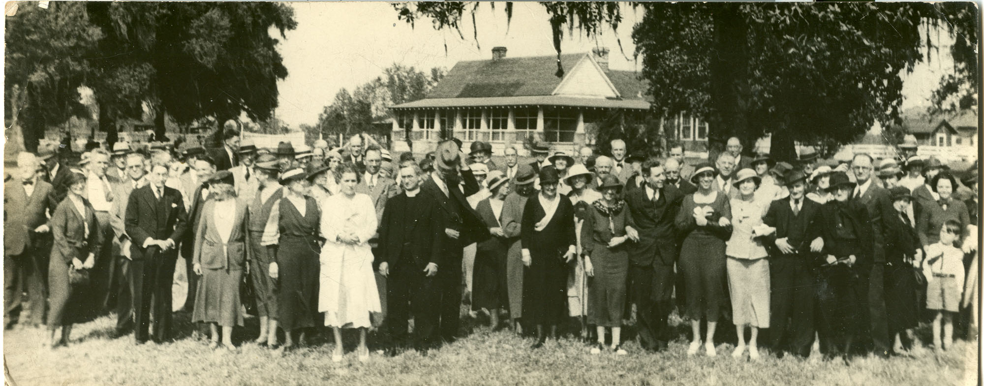 Agricultural Society's trip to Du Pont's Place