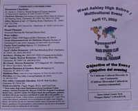 Evento multicultural organizado por la escuela West Ashley High  /  West Ashley High Multicultural Event