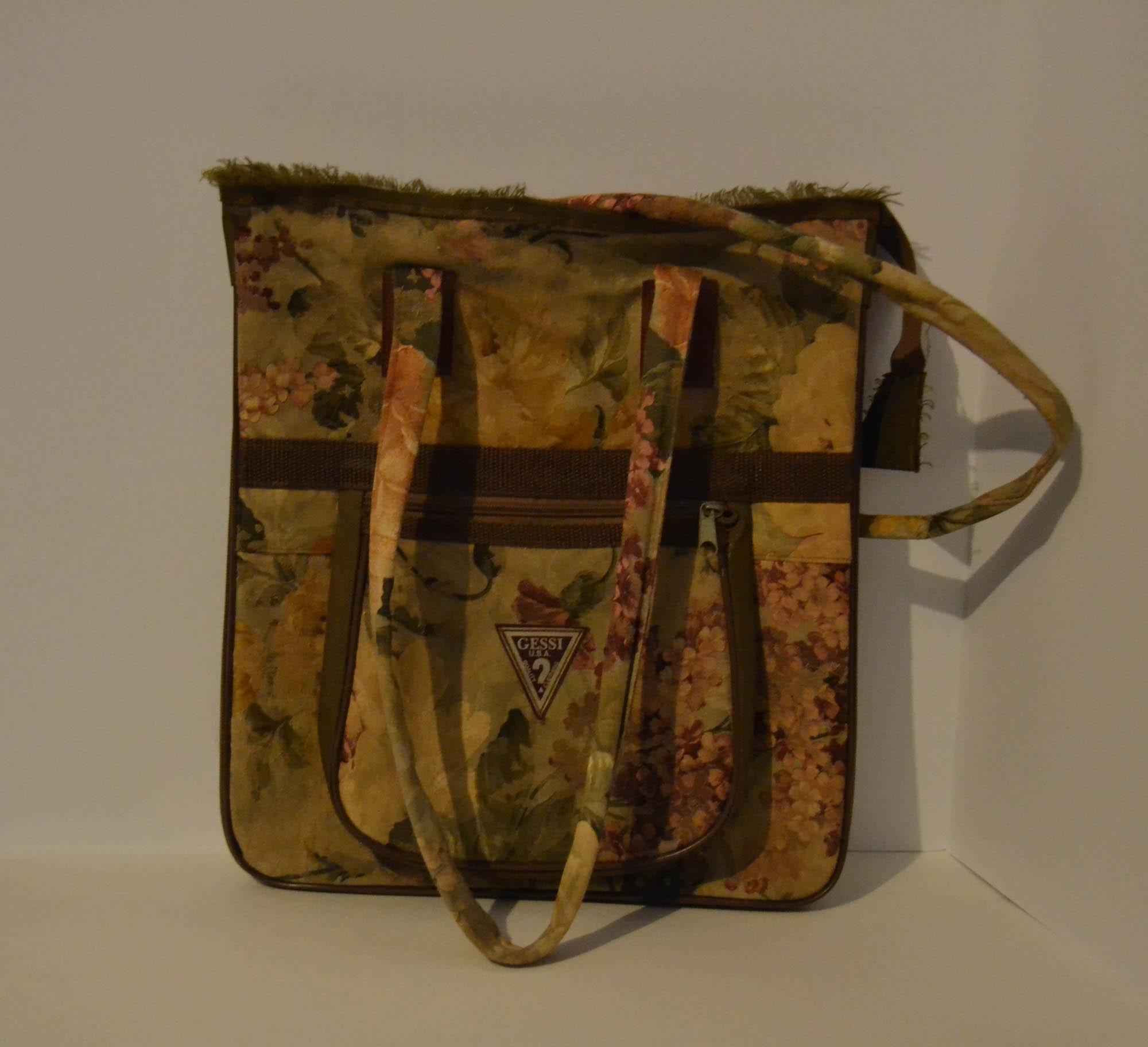 Bolso floreado  /  Floral Handbag