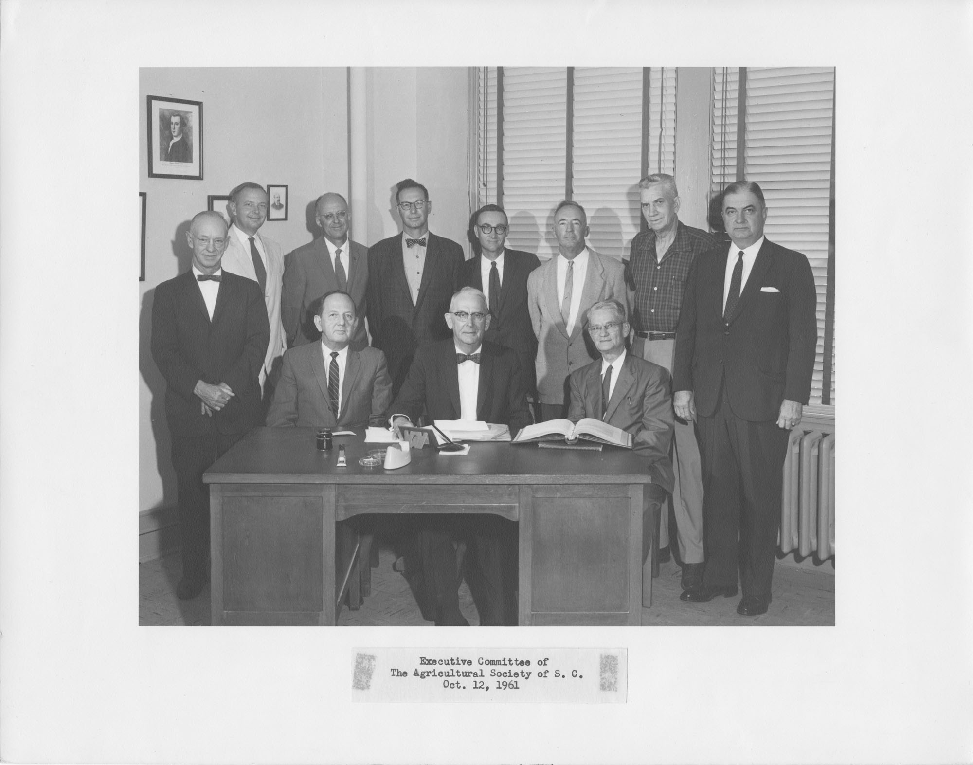 Executive Committee of the Agricultural Society of South Carolina, 1961