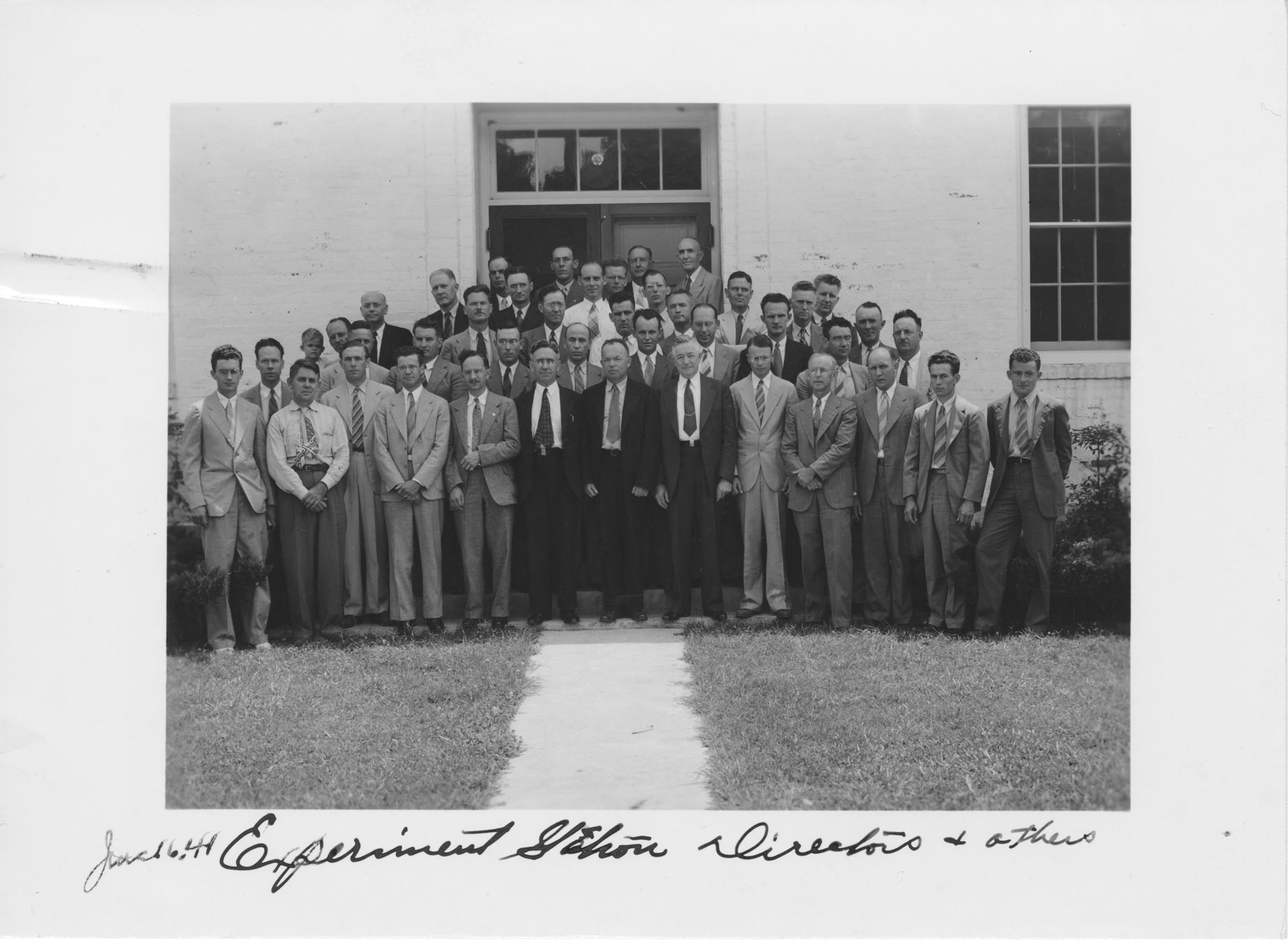 Experiment Station Directors and Others