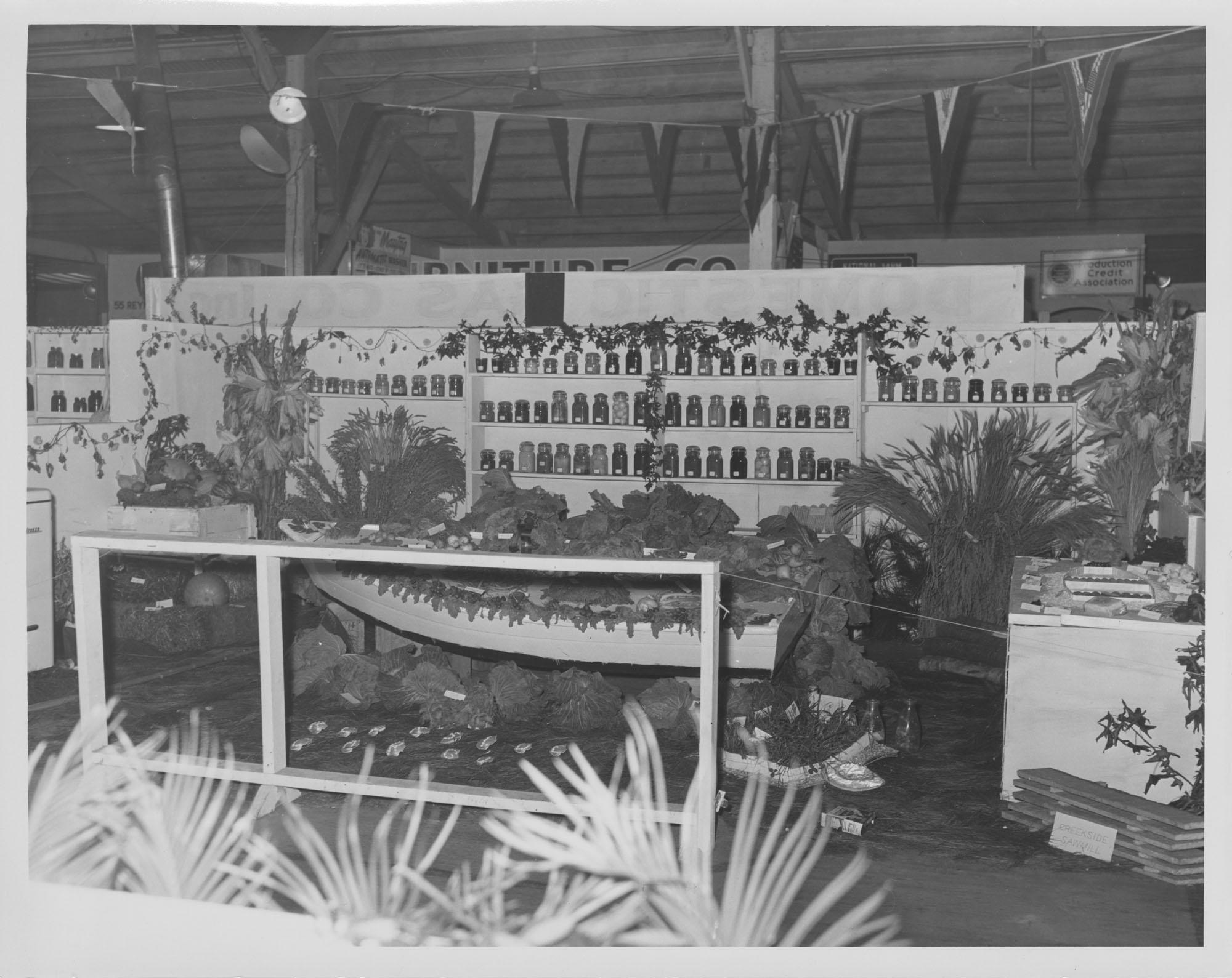 Fair Exhibit featuring Creekside Sawmill