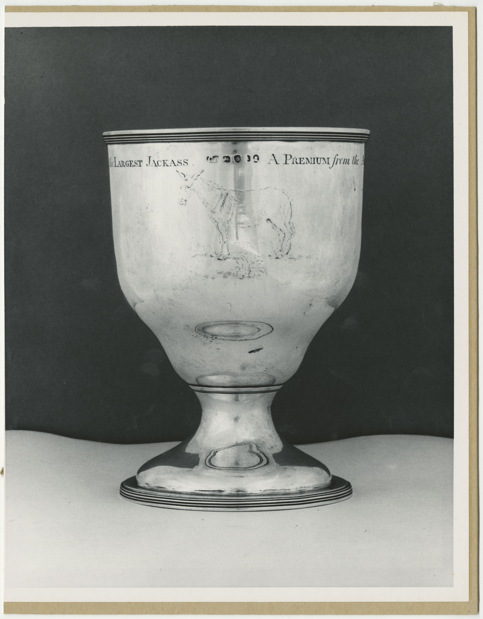 Chalice for General George Washington, Side 1