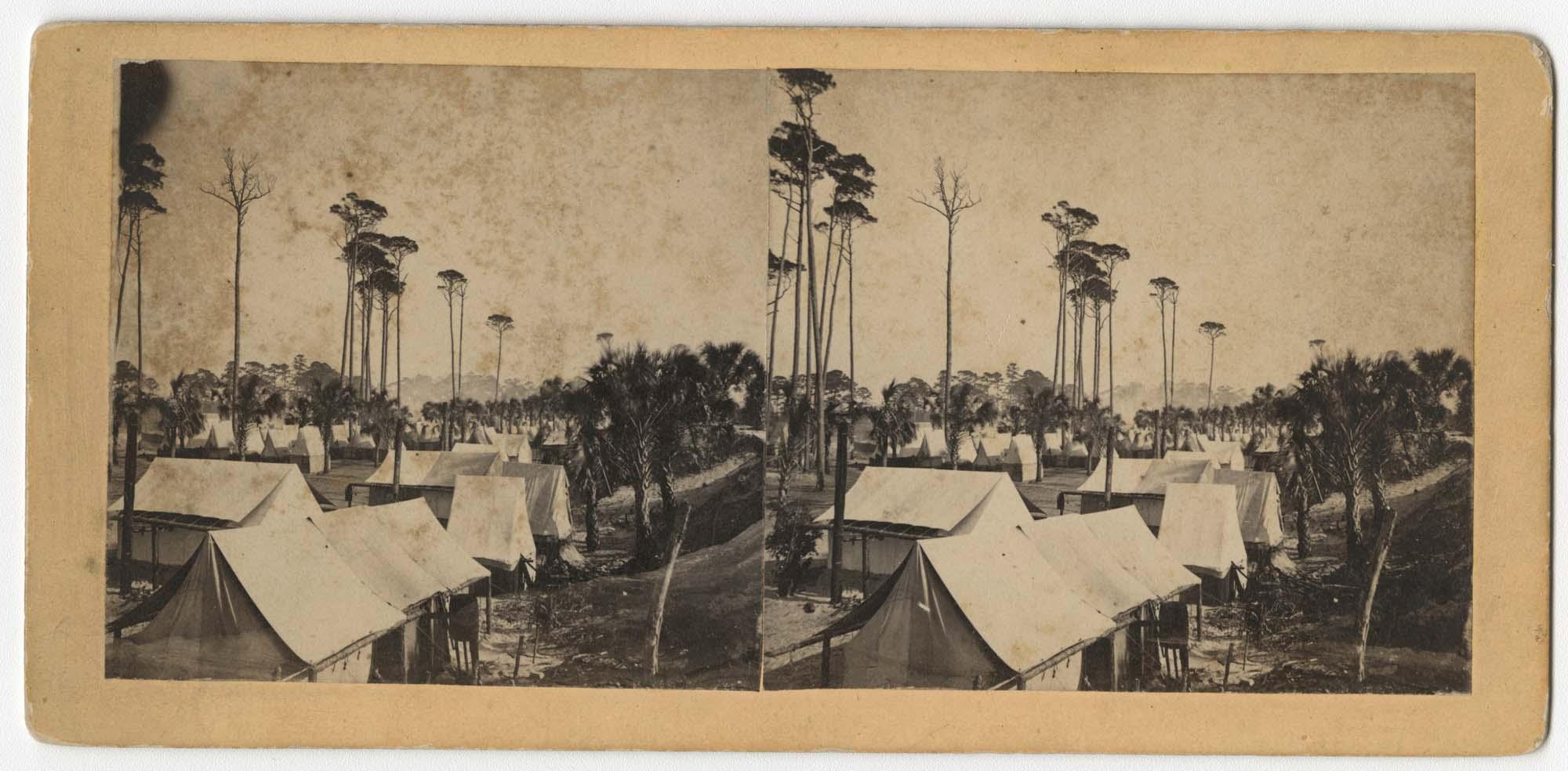Camp of Folly Island