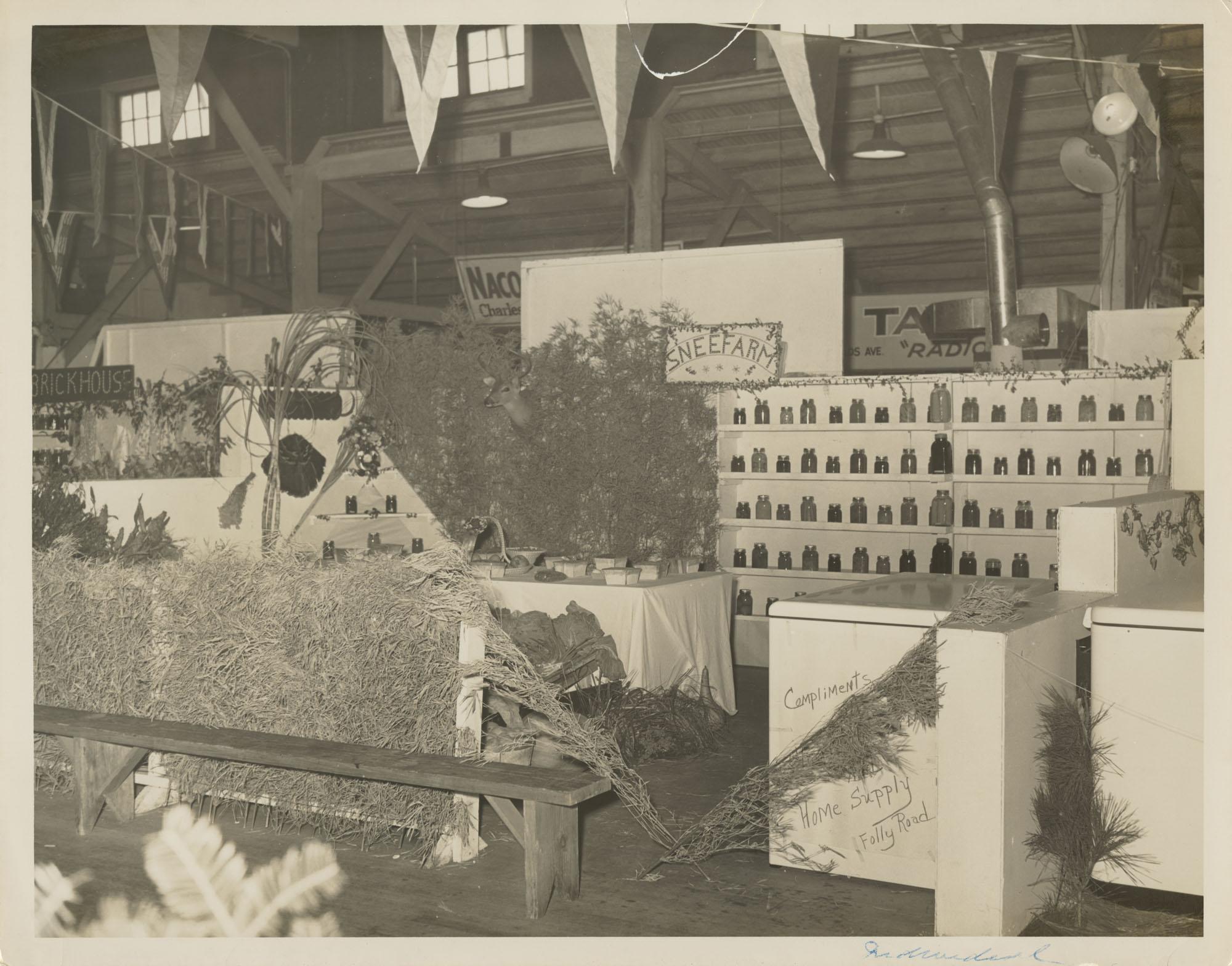 Snee Farm Fair Exhibit