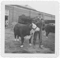 Tommy Legare and Bull