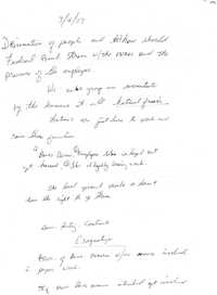 Notas de Diana Salazar  /  Diana Salazar's Notes