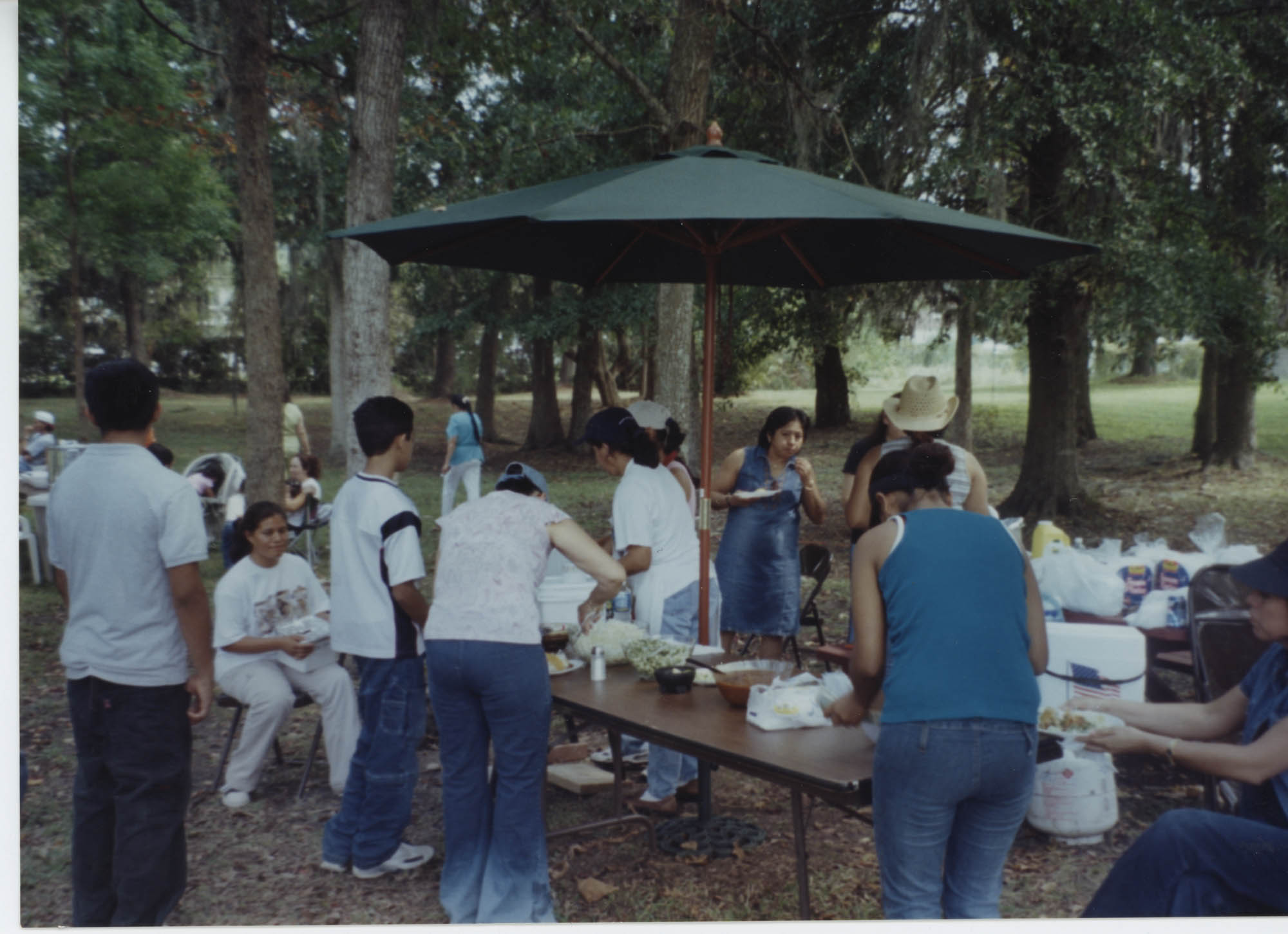 Fotografía de un festival comunitario / Photograph of Community Festival